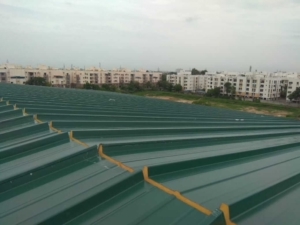 Puf Panel Installation Work In Chennai Vels Roofing
